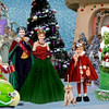 GFunny Family Grinch Christmas Card