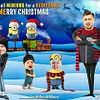 Desicable Me Funny Family Christmas Card
