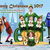 Buddy the elf in New York Family Xmas card