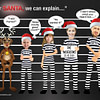 Police LIne-Up Christmas Card