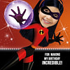 Violet Parr Thank you card