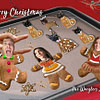 Funny Gingerbread Christmas CARD