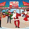 Retro Family Christmas Card