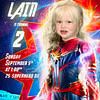 Your daughter as Captain Marvel