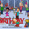 Boss Birthday Card