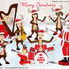 Santa's-Orchestra-Family