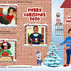 Funny Family Stay at Home Christmas Card