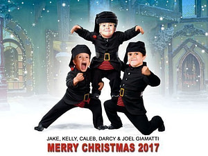 Fred Claus Christmas Card