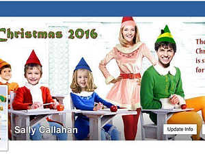 Buddy the Elf FACEBOOK COVER