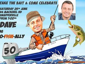 Fisherman Invitation