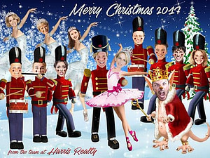 NUTCRACKER CORPORATE CHRISTMAS CARD