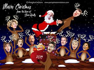 Funny Company Christmas Card